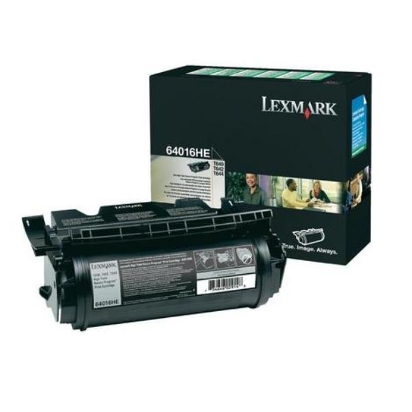 Original Lexmark 64016HE Toner schwarz