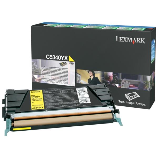 Original Lexmark C5340YX Toner gelb