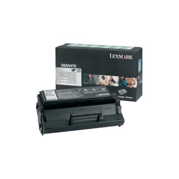 Original Lexmark 8A0478 Toner schwarz