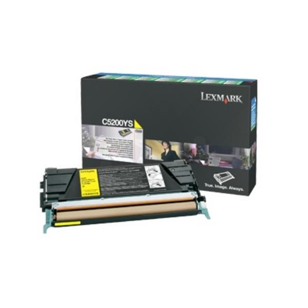 Original Lexmark C5200YS Toner gelb