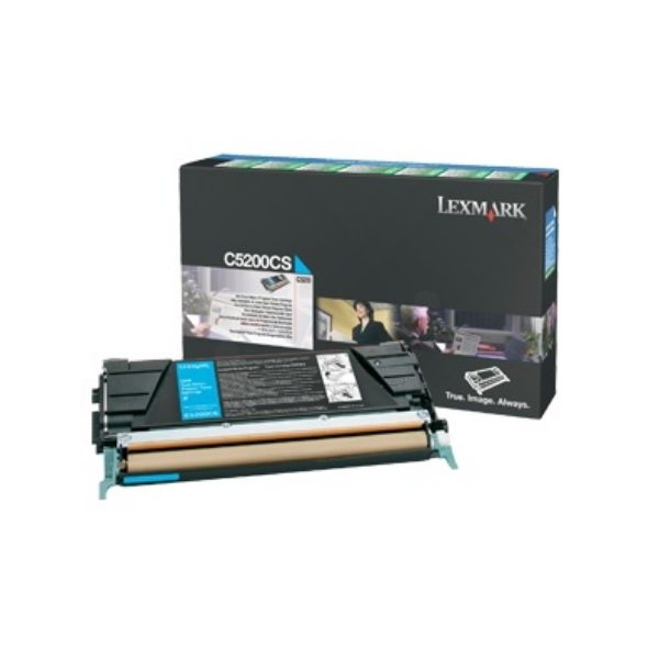 Original Lexmark C5200CS Toner cyan