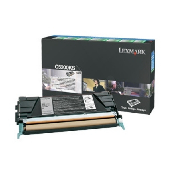 Original Lexmark C5200KS Toner schwarz