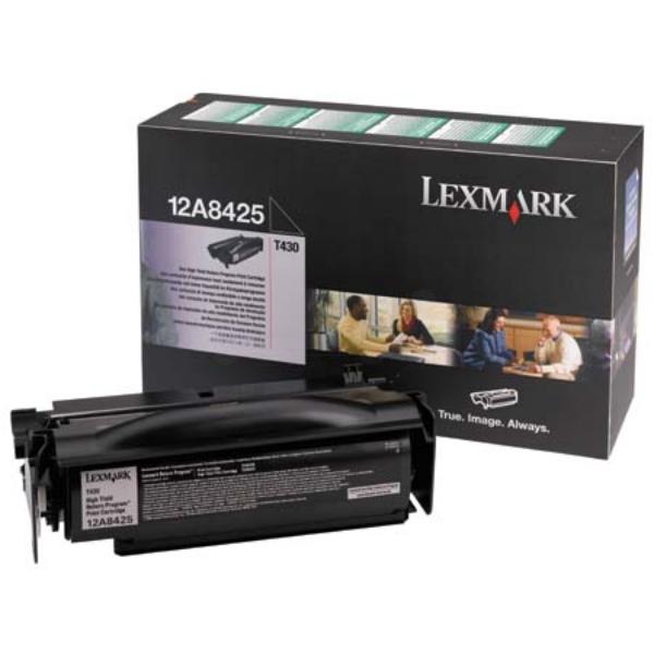 Original Lexmark 12A8425 Toner schwarz