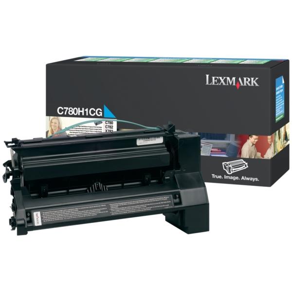 Original Lexmark C780H1CG Toner cyan
