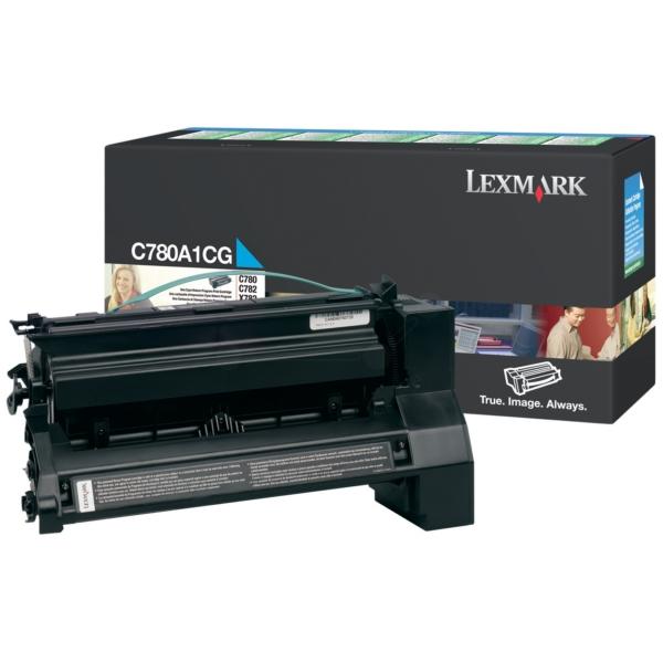 Original Lexmark C780A1CG Toner cyan