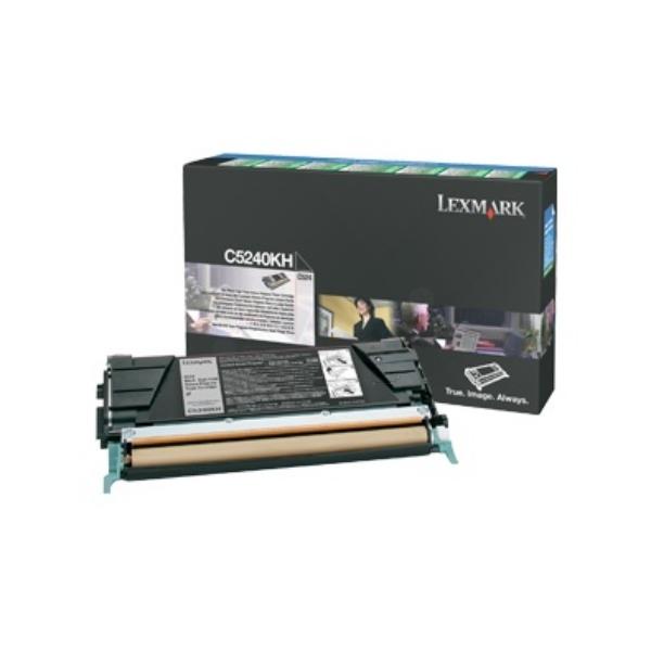 Original Lexmark C5240KH Toner schwarz