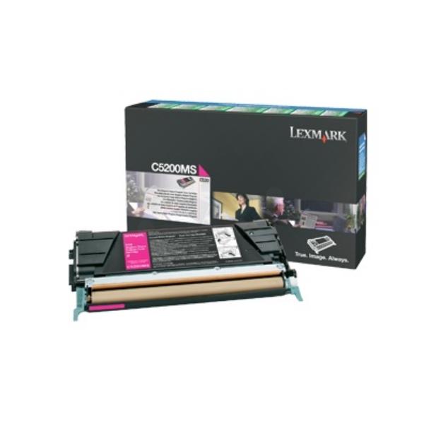 Original Lexmark C5200MS Toner magenta