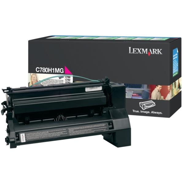 Original Lexmark C780H1MG Toner magenta