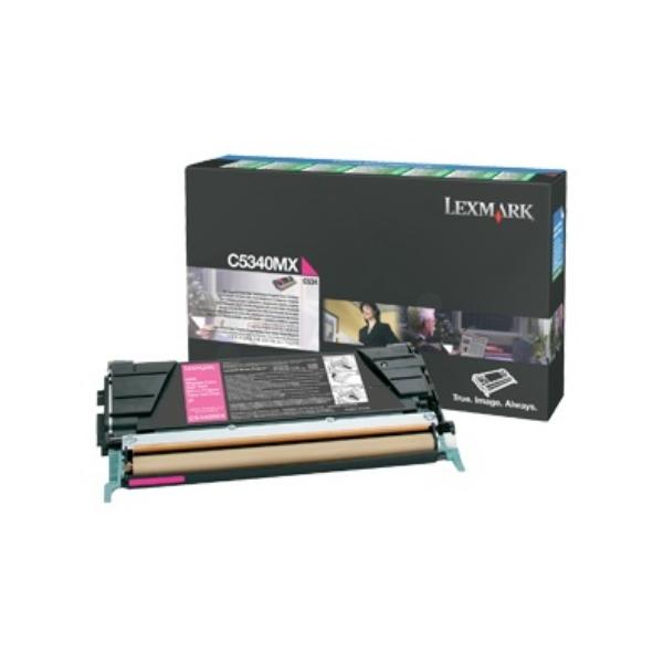 Original Lexmark C5340MX Toner magenta