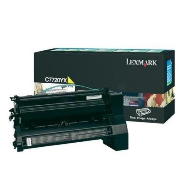 Original Lexmark C7720YX Toner gelb