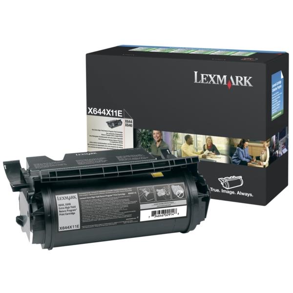 Original Lexmark X644X11E Toner schwarz