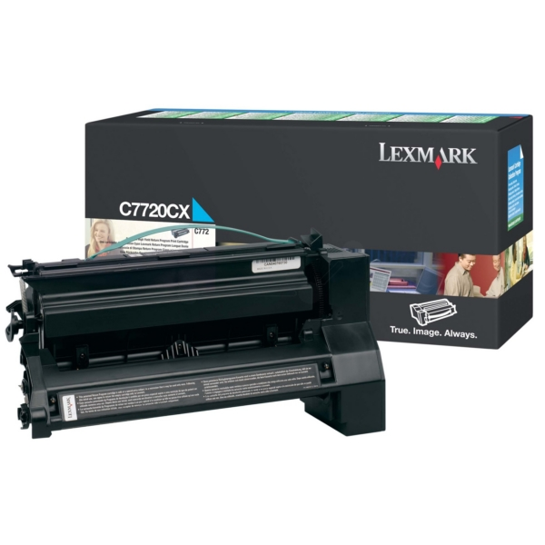 Original Lexmark C7720CX Toner cyan