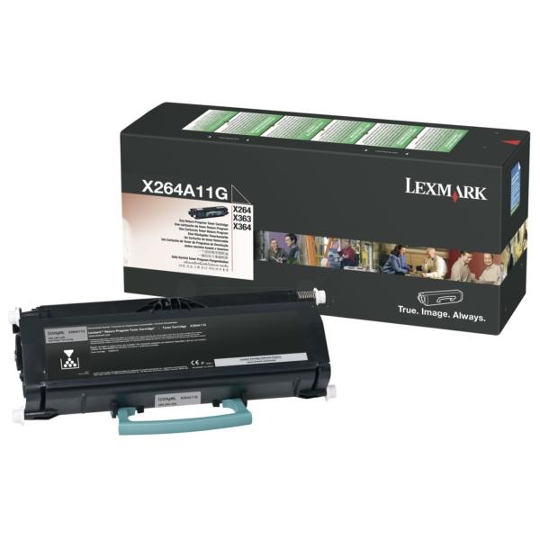 Original Lexmark X264A11G Tóner negro