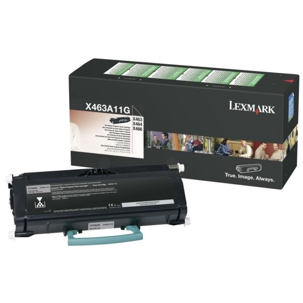 Original Lexmark X463A11G Tóner negro
