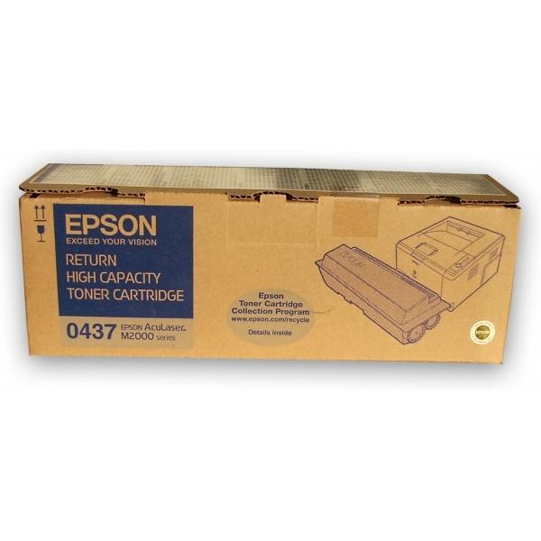 Original Epson C13S050437 / 0437 Toner schwarz