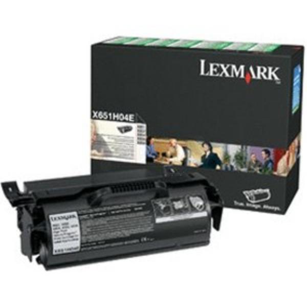 Original Lexmark X651H04E Toner schwarz