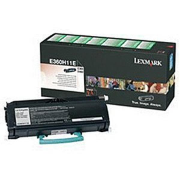 Original Lexmark E360H11E Toner noir