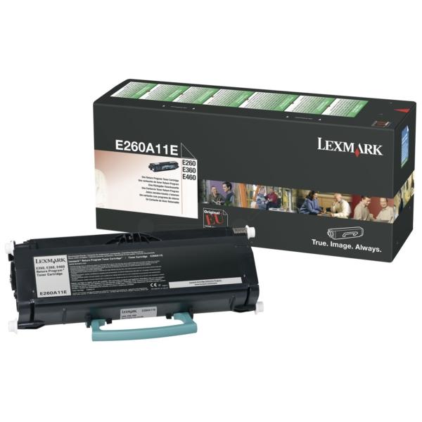 Origineel Lexmark E260A11E Toner zwart