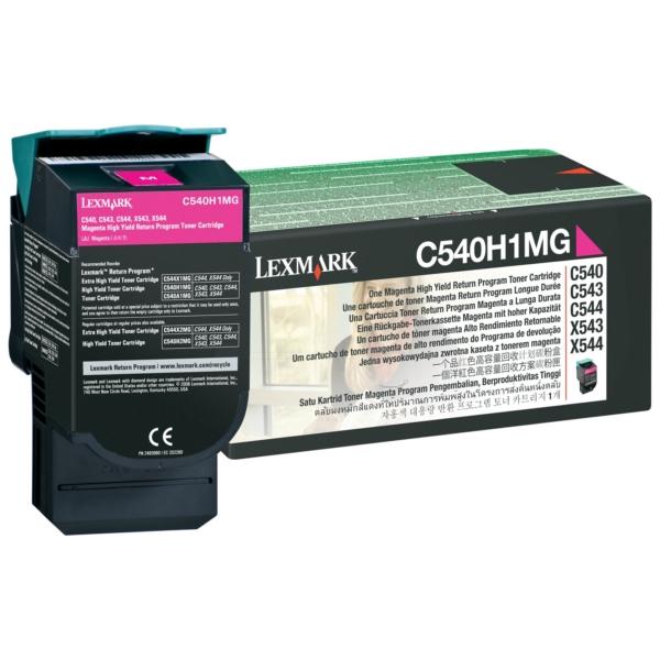 Oryginalny Lexmark C540A1MG Toner magenta