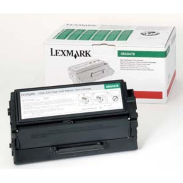 Original Lexmark 8A0144 Toner schwarz