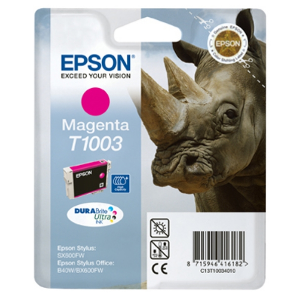 Originale Epson C13T10034020 / T1003 Cartuccia di inchiostro magenta