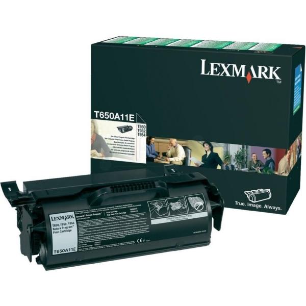 Original Lexmark T650A11E Toner schwarz