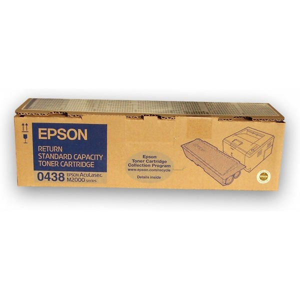 Original Epson C13S050438 / 0438 Toner schwarz