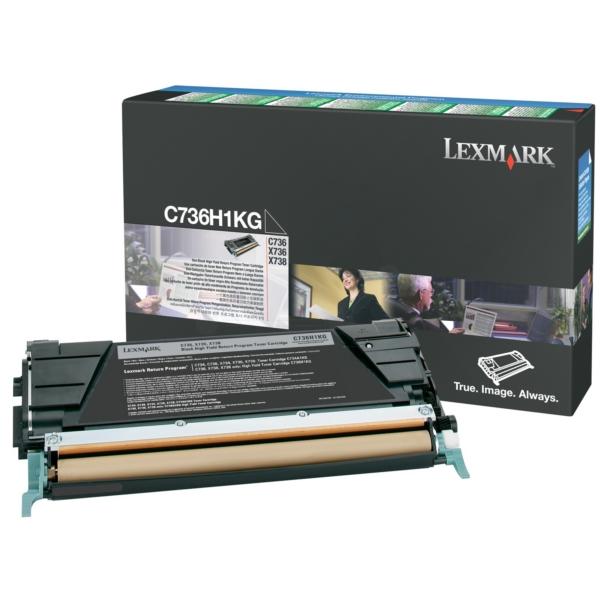 Original Lexmark C736H1KG Toner schwarz