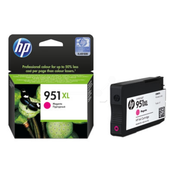 Original HP CN047AE#301 / 951XL Cartouche d'encre magenta