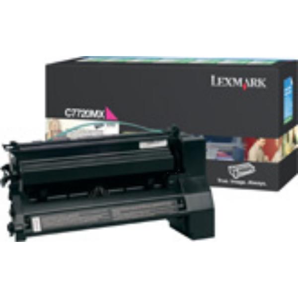 Original Lexmark C7720MX Toner magenta