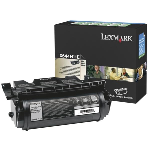 Original Lexmark X644H11E Toner schwarz