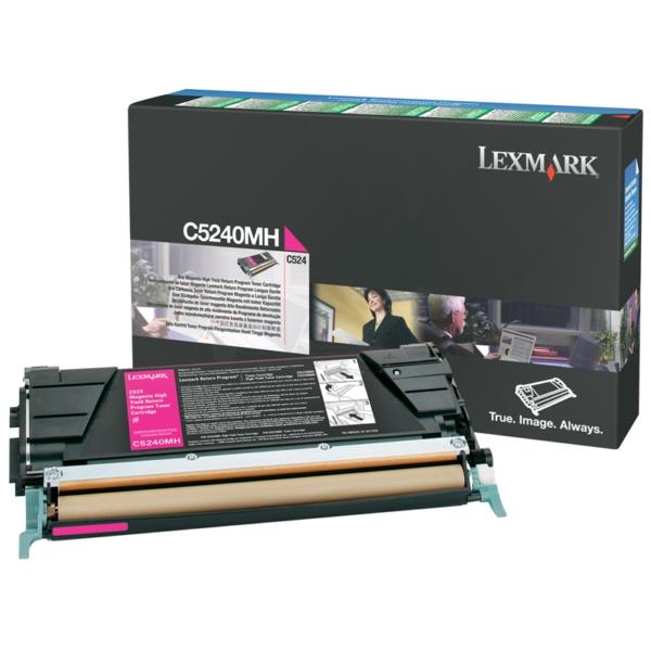 Original Lexmark C5240MH Toner magenta