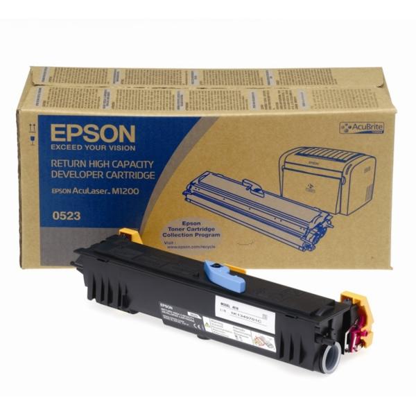 Original Epson C13S050523 / 0523 Toner schwarz