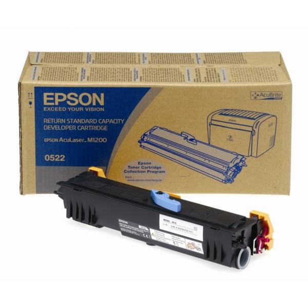 Original Epson C13S050522 / 0522 Toner schwarz