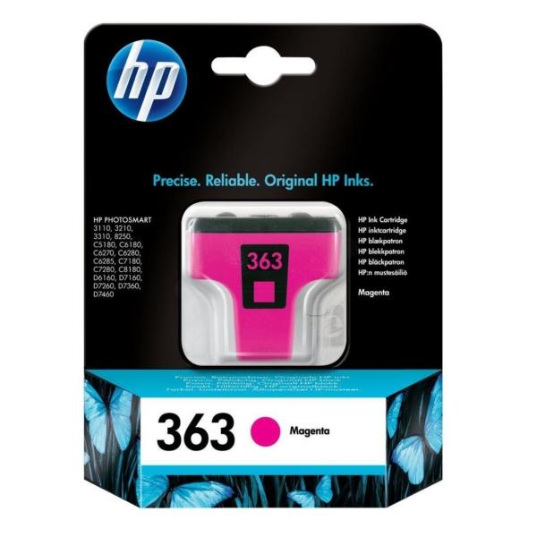 Originale HP C8772EE#301 / 363 Cartuccia di inchiostro magenta