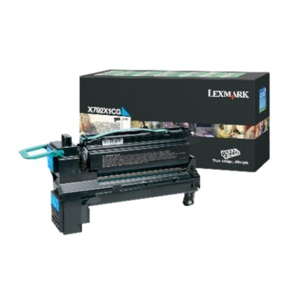 Original Lexmark X792X1CG Toner cyan