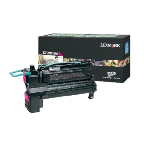 Original Lexmark X792X1MG Toner magenta