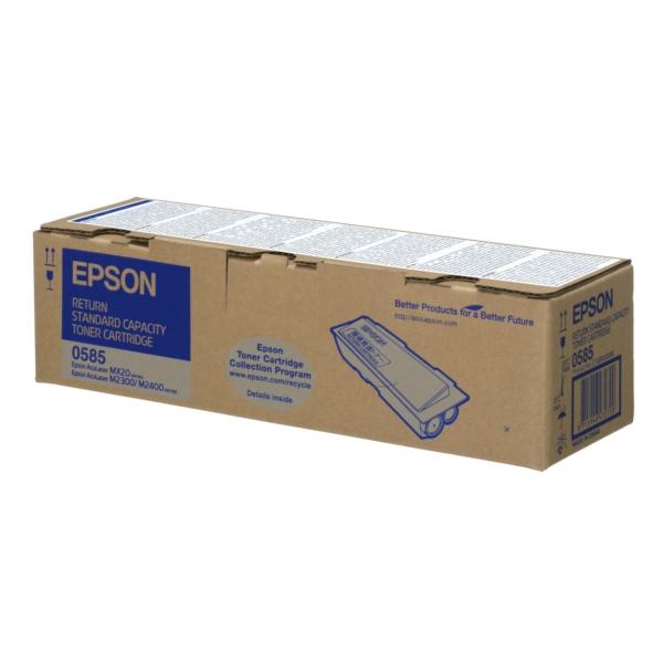 Original Epson C13S050585 / 0585 Toner schwarz