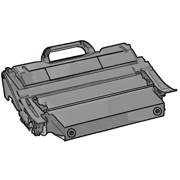Original Lexmark T650H04E Toner schwarz