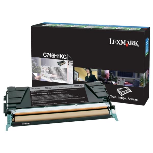 Original Lexmark C746H1KG Toner schwarz