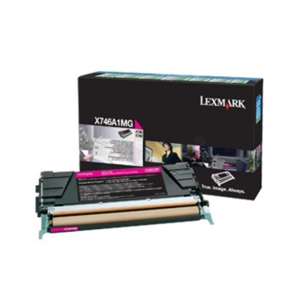 Original Lexmark X746A1MG Toner magenta