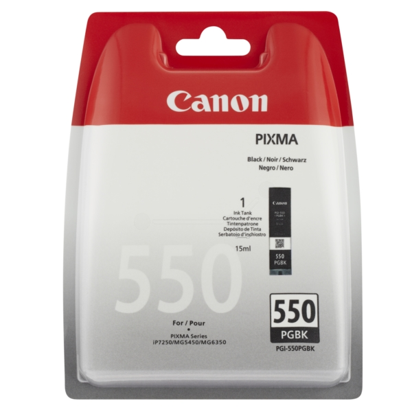 Original Canon 6496B004 / PGI550PGBK Cartouche d'encre noire