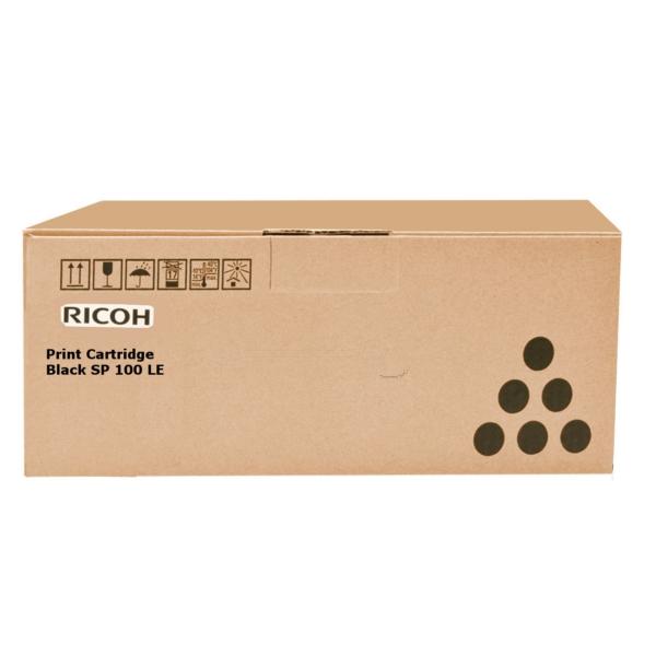 Original Ricoh 407166 / TYPESP100LE Toner schwarz