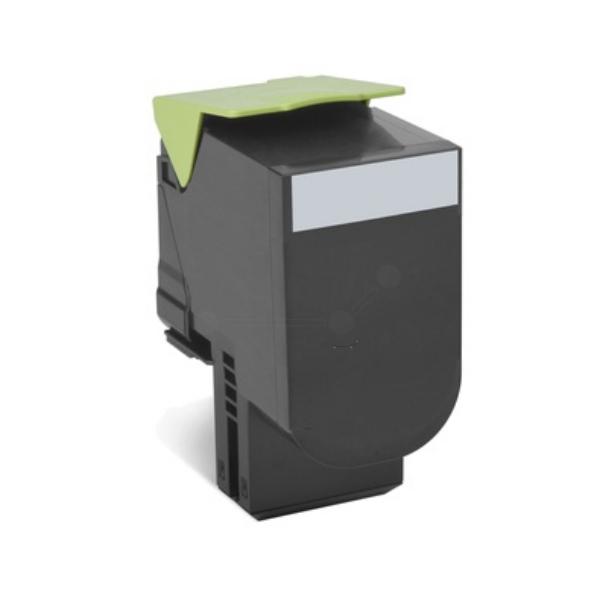Original Lexmark 80C2HK0 / 802HK Toner schwarz