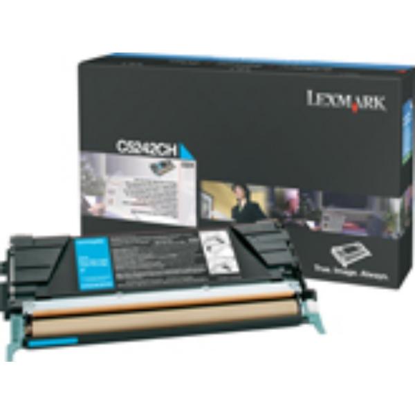 Original Lexmark C524H3CG Toner cyan