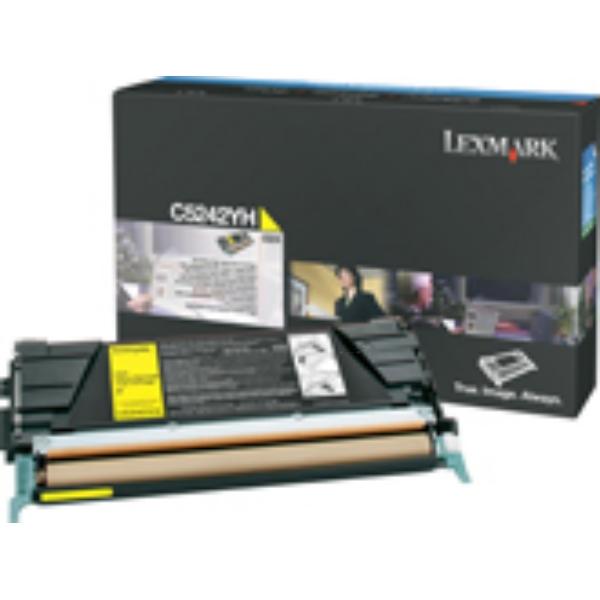 Original Lexmark C524H3YG Toner gelb