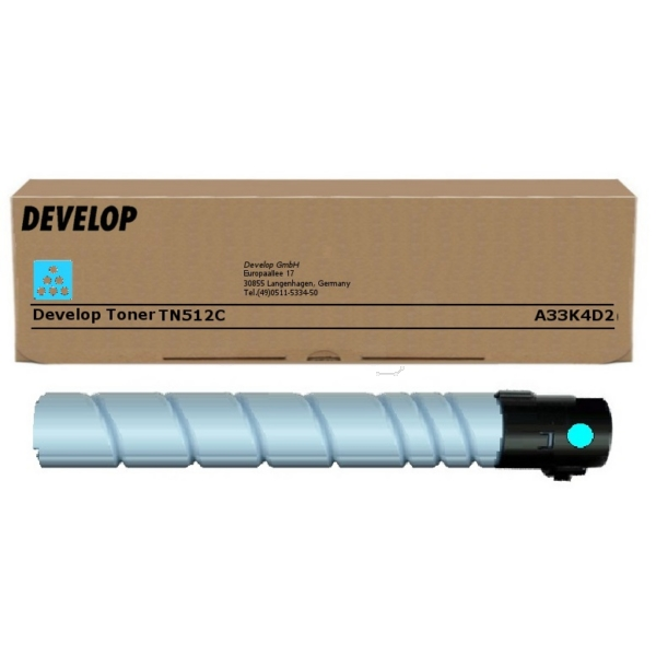 Original Develop A33K4D2 / TN512C Toner cyan