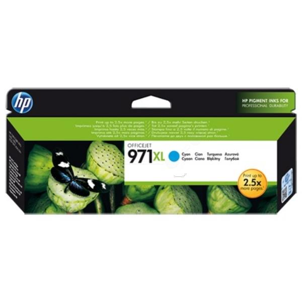 Original HP CN626AE / 971XL Tintenpatrone cyan