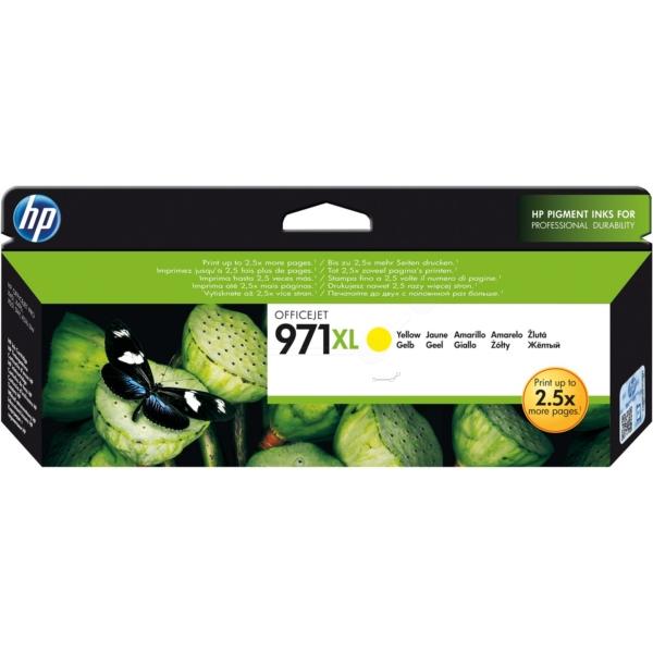Original HP CN628AE / 971XL Tintenpatrone gelb