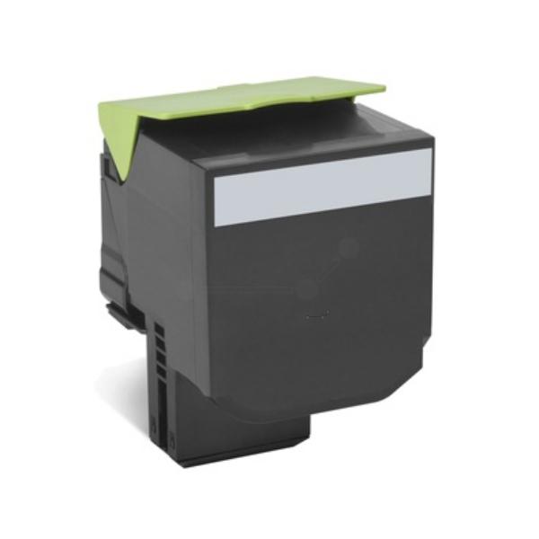 Original Lexmark 80C2XKE / 802XK Toner schwarz